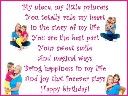 1st birthday message for niece ; 512f3e5564a79c19a2b6e6bd16ef45a4