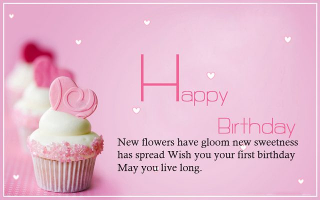 1st birthday message for niece ; girly-Birthday-Niece-Wishes-640x400