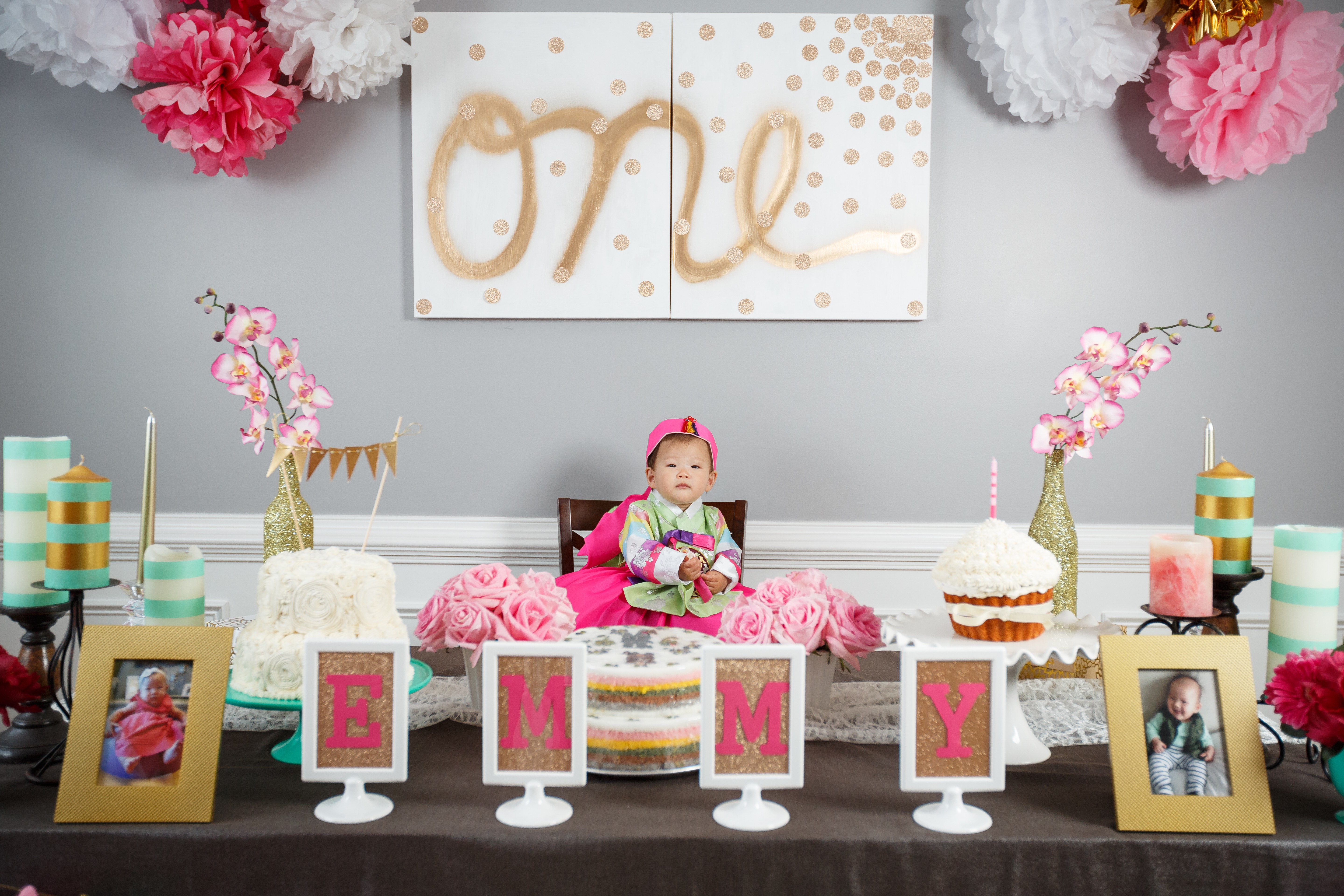 1st birthday party ; Emmy-Min-First-Birthday-June-2014-21-of-288