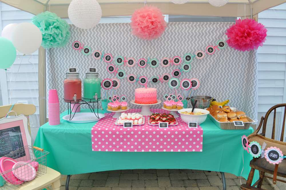 1st birthday party ; chevron_partyphoto2