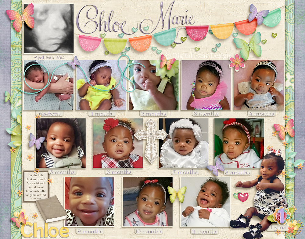 1st birthday picture collage ; 14x11birthdaycollage(pp_w1000_h785)