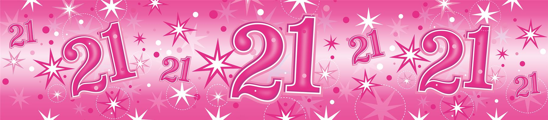 21st birthday banners and balloons ; 311c472a-c9c3-4f9a-8333-7e29c2542973