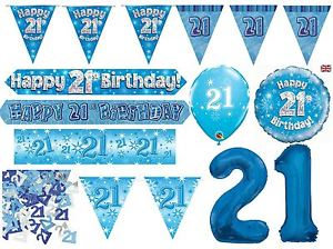21st birthday banners and balloons ; s-l300-3