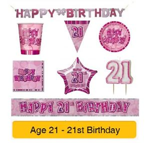 21st birthday banners and balloons ; s-l300-4