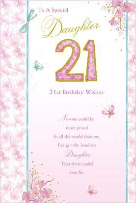 21st birthday card verses for daughter ; 41yT0V5hVSL
