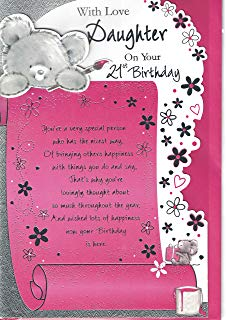 21st birthday card verses for daughter ; A1tk%252BTFG4vL