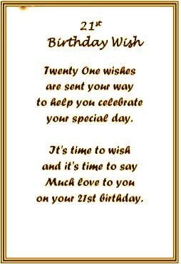 21st birthday card verses for daughter ; c940eb0f06037e8d9d90fa0a1bb29397