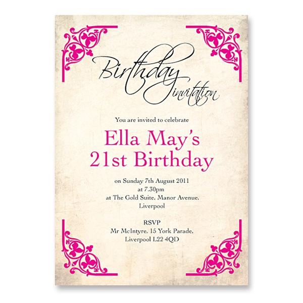 21st birthday invitation card ideas ; 21-birthday-invitations-for-your-extraordinary-Birthday-Invitation-Templates-associated-with-beautiful-sight-using-a-exceptional-design-16