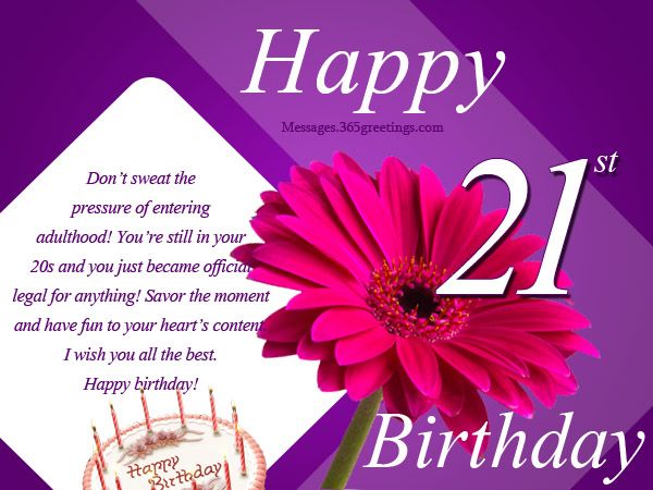 21st birthday message for girlfriend ; f1e2946baefafc81307c36e5d7716403