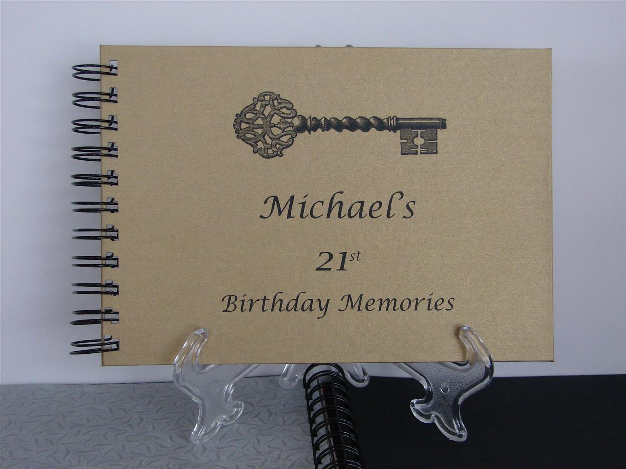 21st birthday photo book ideas ; o