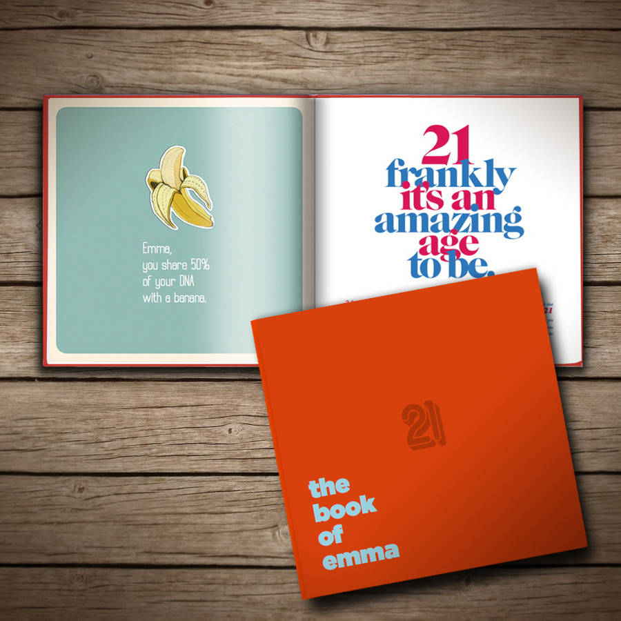 21st birthday photo book ideas ; original_personalised-21st-birthday-book-of-anyone