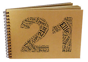 21st birthday photo book ideas ; s-l300