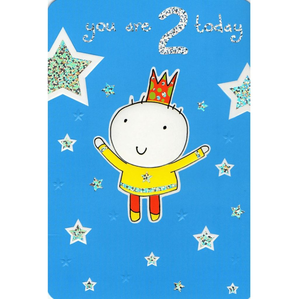 2nd birthday card ; birthday-boy-2nd-birthday-card-6057-p