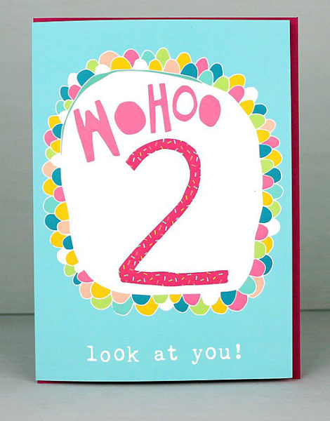 2nd birthday card ; card-crush-greetings-molly-mae-age-birthday-cards-girls-2nd-birthday-cards-TS02-470x600