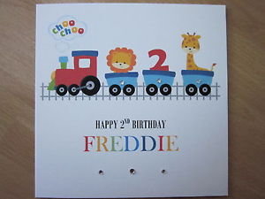 2nd birthday card ; s-l300