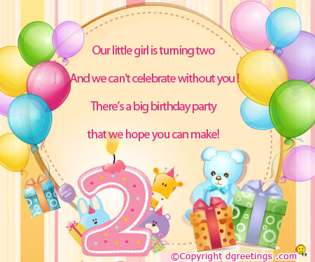 2nd birthday message for baby boy ; turning-two