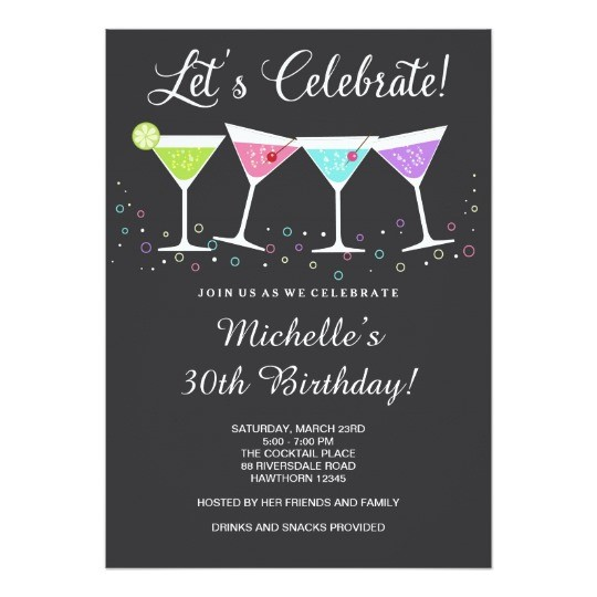 30th birthday invitation card template ; Fascinating-30Th-Birthday-Invitations-Which-Can-Be-Used-As-Birthday-Invitation-Cards