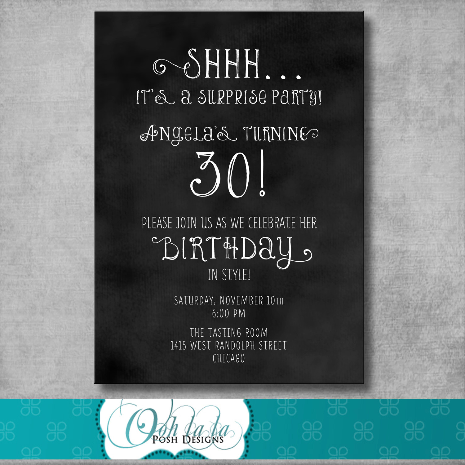 30th birthday invitation card template ; surprise-30th-birthday-invitations-together-with-a-picturesque-view-of-your-Birthday-Invitation-Templates-using-astounding-invitations-14