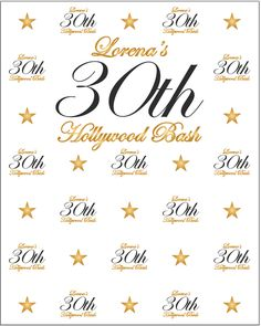 30th birthday photo backdrop ; 13eacd0497a213d8ab68eea5601c7631--th-birthday-repeat