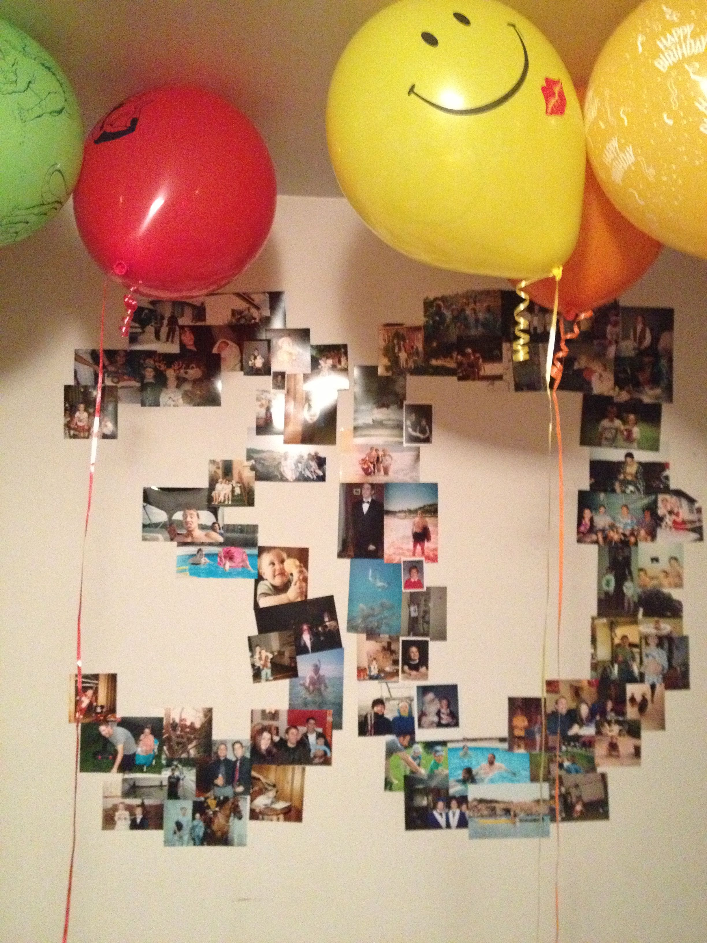 30th birthday photo collage ; 97600c4bb866a1bc24943aaabe28c5ea