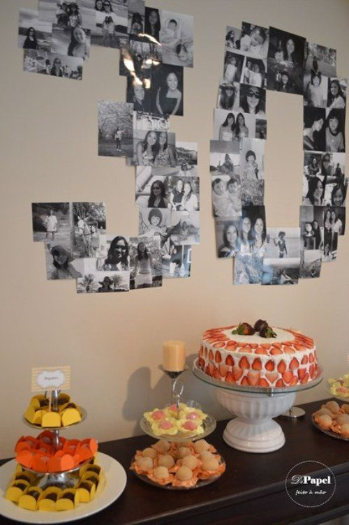 30th birthday photo collage ; birthday-party-ideas-collage