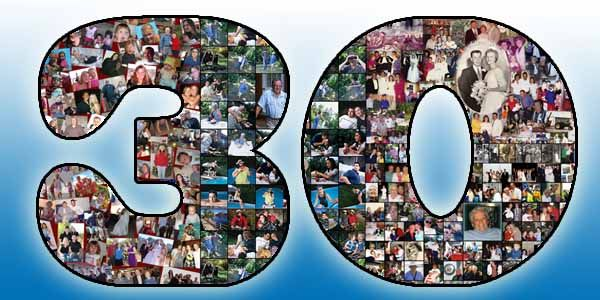 30th birthday photo collage ; birthday-present-for-husband-50th-30th-birthday-gift-for-husband-wife-boyfriend-and-girlfriend-30