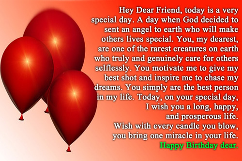 40th birthday message for a special friend ; 11751-best-friend-birthday-wishes