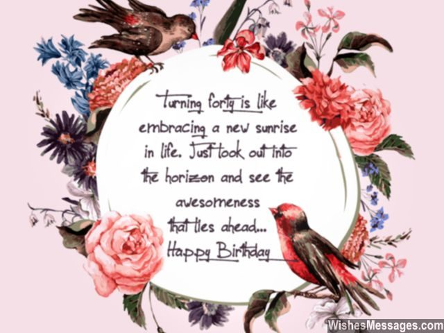 40th birthday message for a special friend ; Cute-birthday-greeting-for-turning-40-sweet-message-640x480