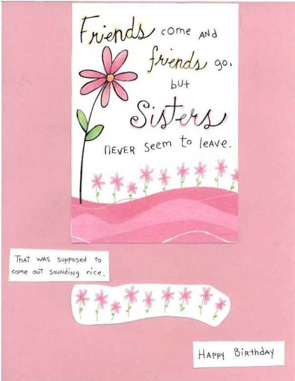 40th birthday message for a special friend ; funny-birthday-pictures-for-sisters