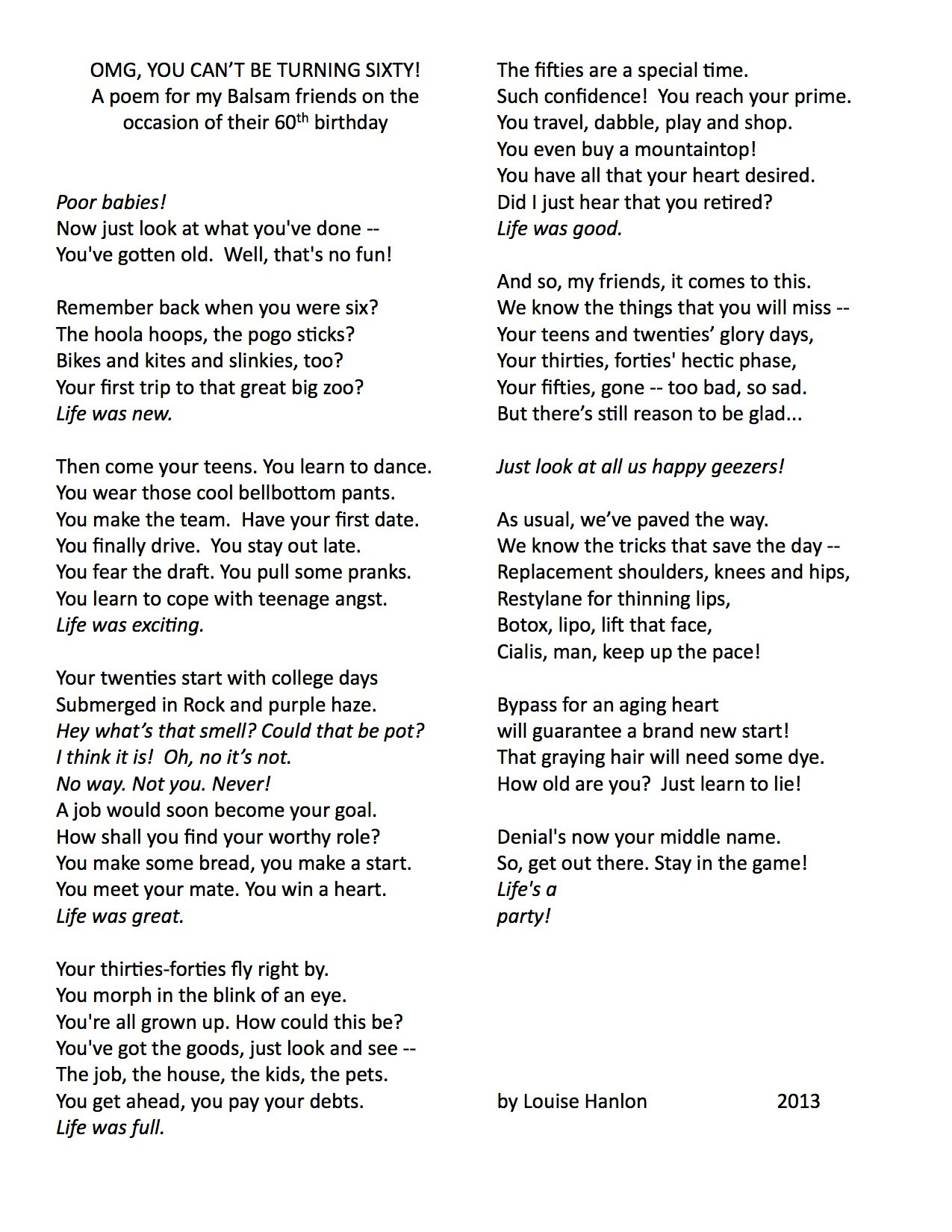 46 birthday poem ; positive-birthday-quotes-luxury-funny-gags-for-60th-birthday-about-the-person-laugh-funny-of-positive-birthday-quotes