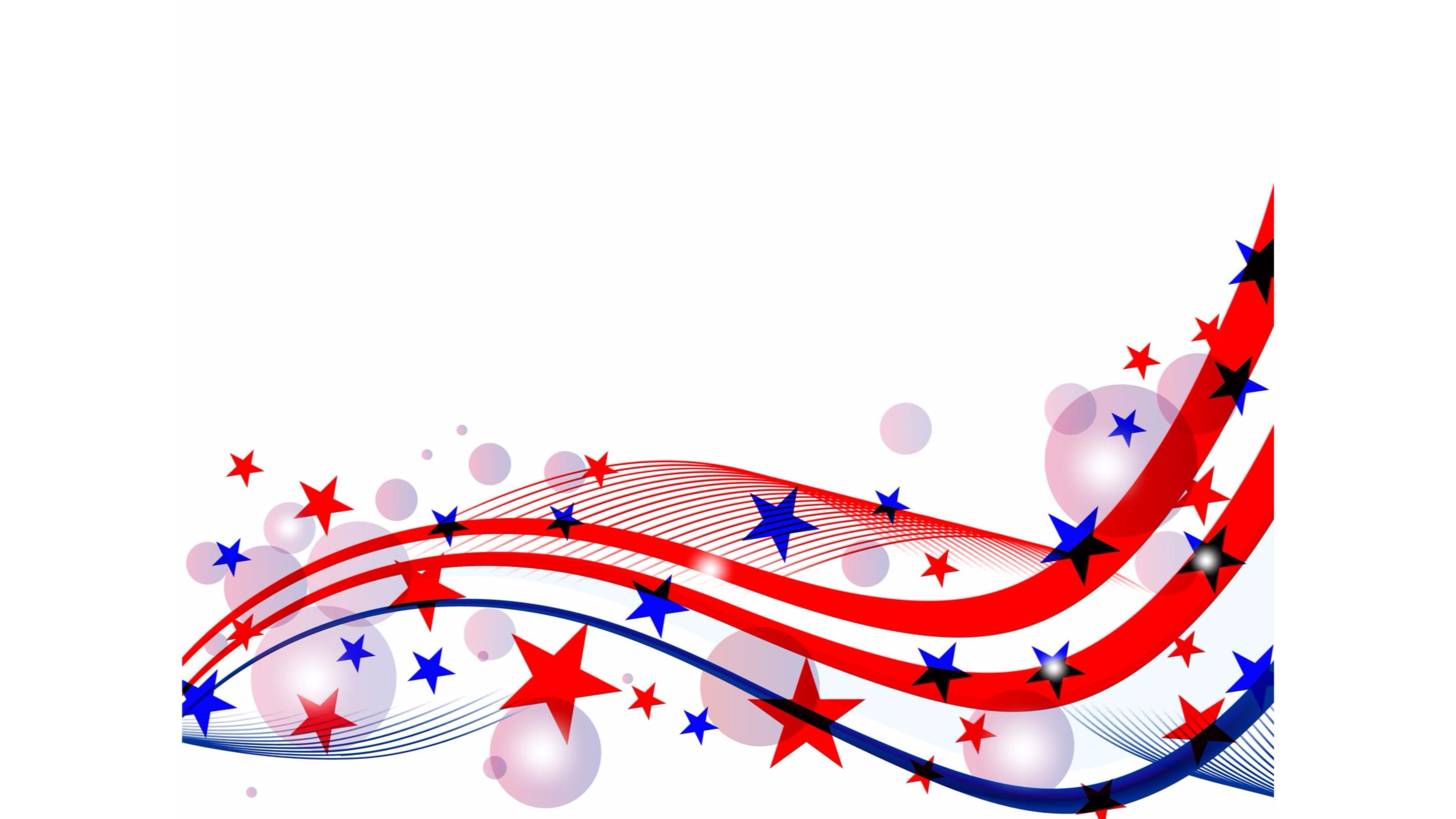 4th of july birthday clipart ; Red-White-and-Blue-Stars-4th-of-July-4K-Wallpaper