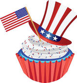 4th of july birthday clipart ; k9856396