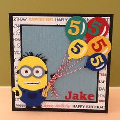 5 year old boy birthday card ideas ; 9b5c4bf4edf1ecbd61bcaafe01c64a19--minion-birthday-boy-birthday