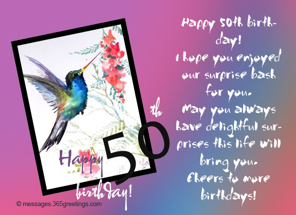 50 years birthday greeting cards ; happy-birthday-50-02