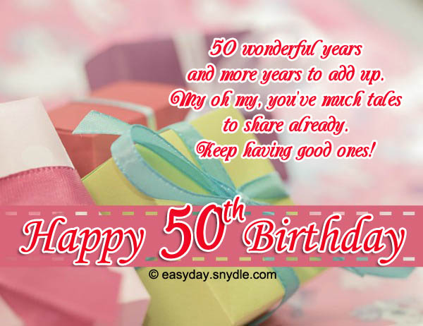 50th birthday greeting cards ; happy-50th-birthday-wishes