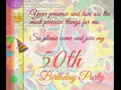 50th birthday greeting cards ; hqdefault