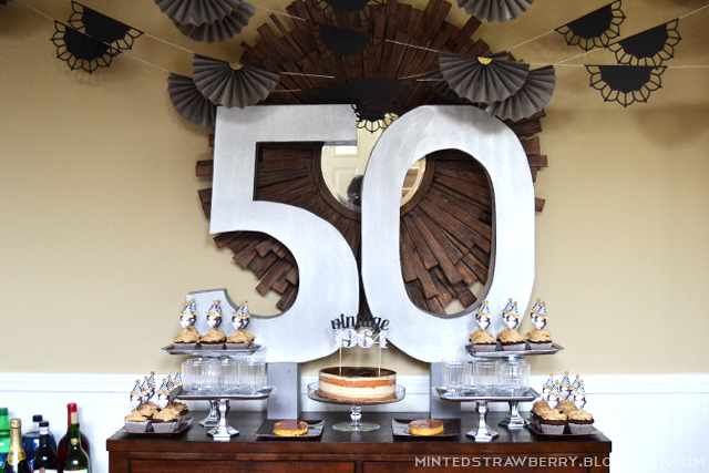 50th birthday party ideas ; 50-party-decor-ideas
