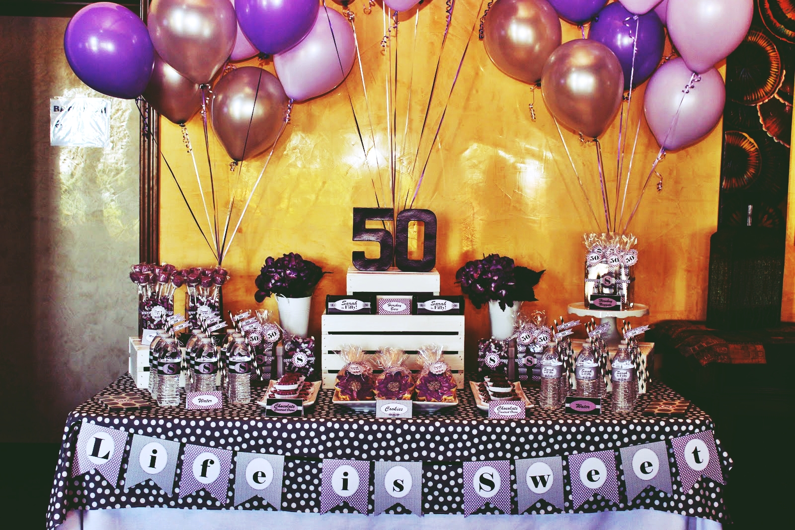 50th birthday party ideas ; 50th-birthday-party-themes-1