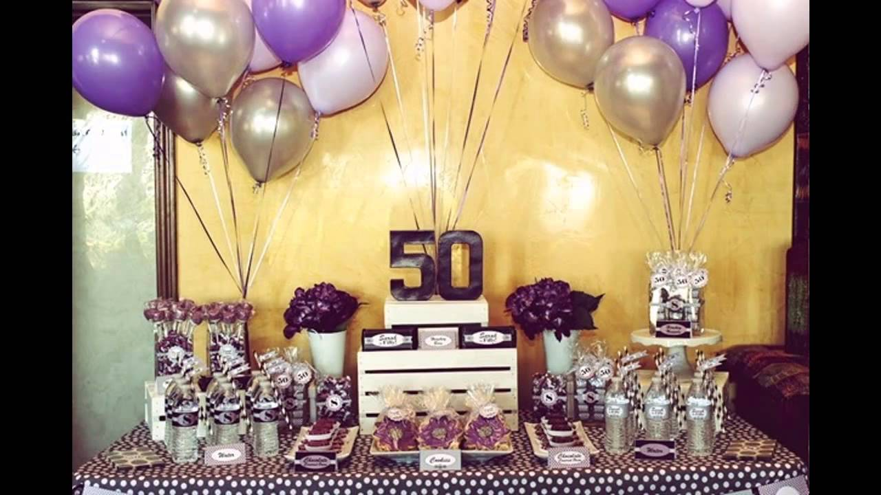 50th birthday party ideas ; maxresdefault