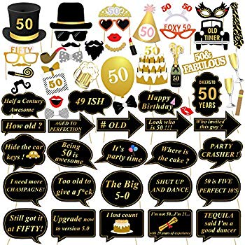 50th birthday party photo booth ideas ; 611%252Bqj3fMCL