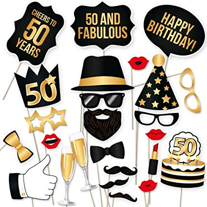 50th birthday party photo booth ideas ; 712RPsxICoL