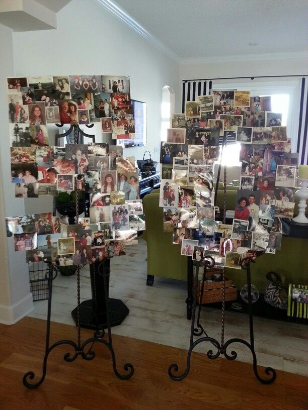 50th birthday photo board ideas ; ded4b02d9ed8afd936e108e54910c37d--birthday-collage--party