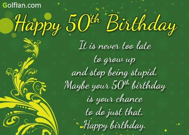 50th birthday picture quotes ; Birthday-Quotation-004