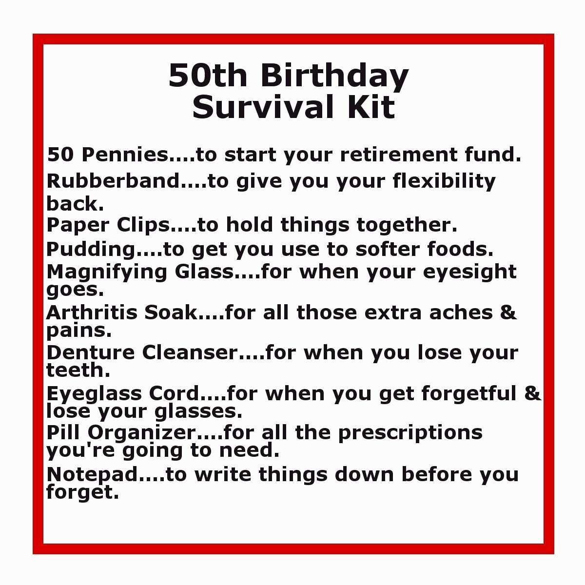 50th birthday picture quotes ; funny-40th-birthday-quotes-beautiful-50th-birthday-survival-kit-of-funny-40th-birthday-quotes
