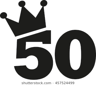 50th birthday pictures clip art ; 50th-birthday-number-crown-260nw-457524499