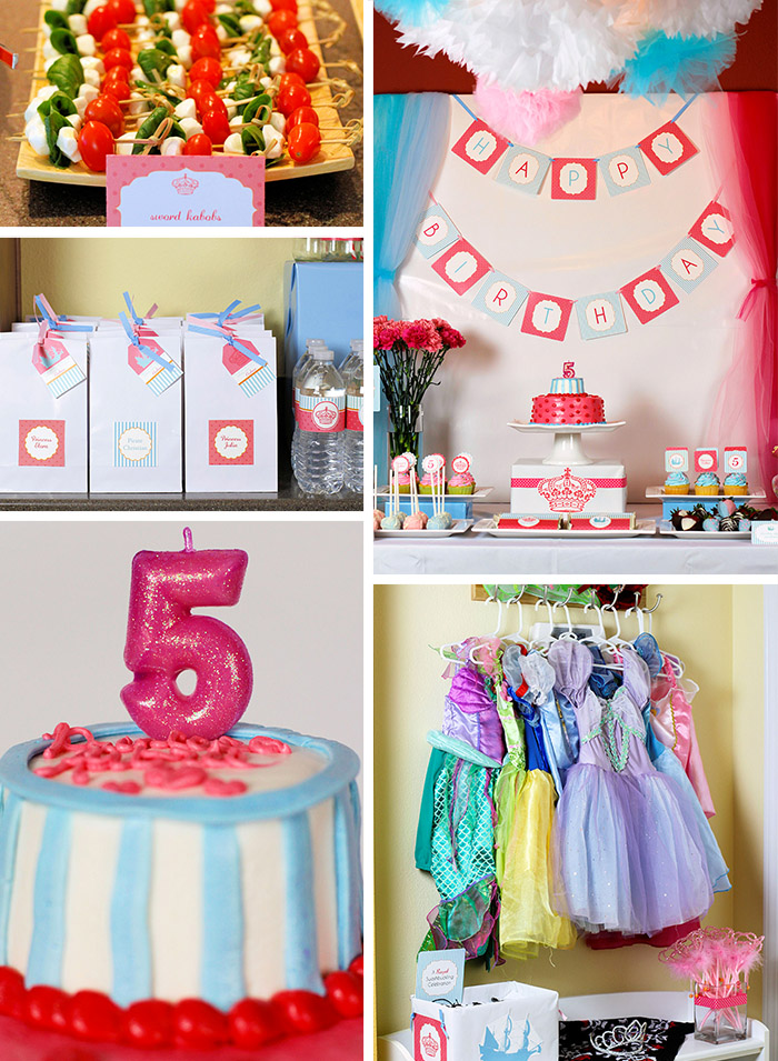 5th birthday themes ; Princess-Pirate-Feature