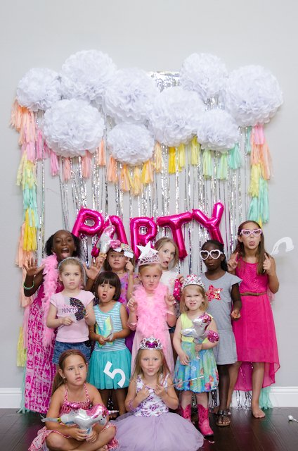 5th birthday themes ; Unicorn-Fifth-Birthday-Party
