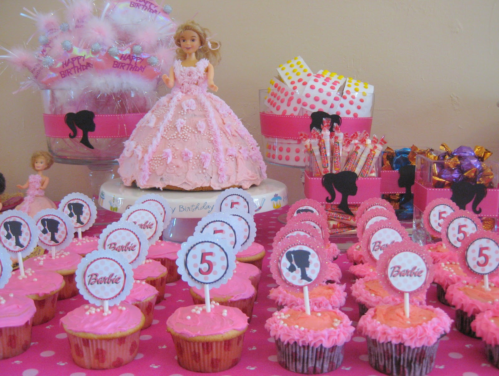 5th birthday themes ; girls-5th-birthday-party-ideas