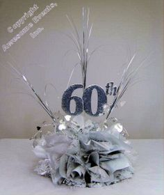 60th birthday anniversary colors ; face07a873cae396c109f50b0d371c92--anniversary-centerpieces-diy-centerpieces