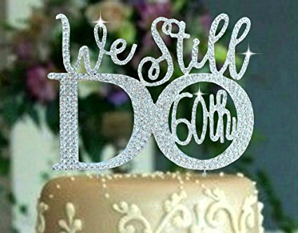 60th birthday anniversary colors ; recommendations-60th-wedding-anniversary-color-best-of-amazon-60th-anniversary-cake-topper-in-gorgeous-silver-crystal-than-beautiful-60th-wedding-anniversary-color-sets-sets